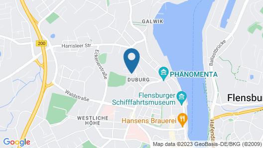 Hotel Flensburg Akademie Map