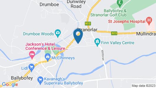Jack's Place Map