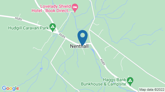 Nent Hall Country House  Map
