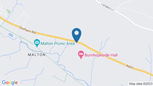 Burnhopeside Hall Map