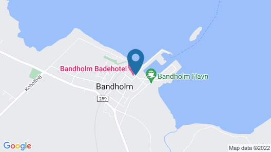 Bandholm Hotel Map
