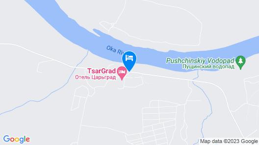 Tsargrad Hotel Map