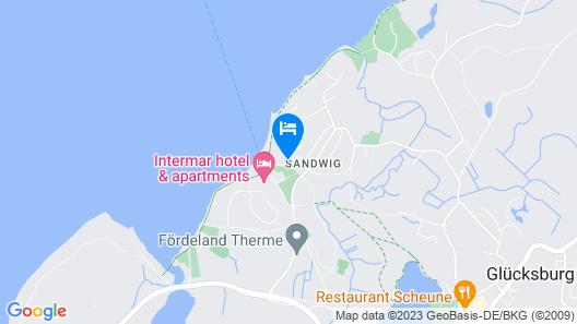 Strandhotel Glücksburg Map