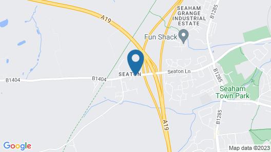 The Seaton Lane Inn Map