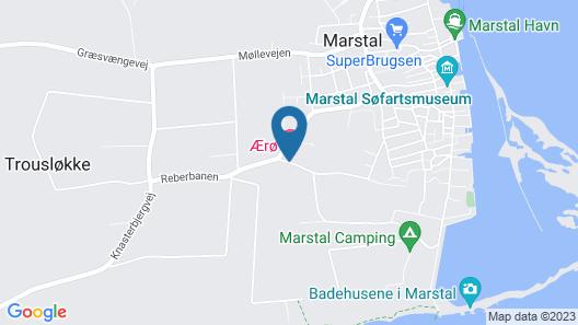 Ærø Hotel - Skipperbyen Marstal Map