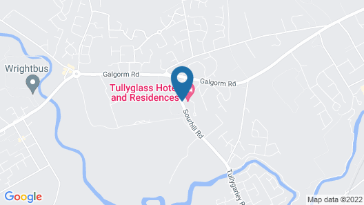 Tullyglass House Hotel Map
