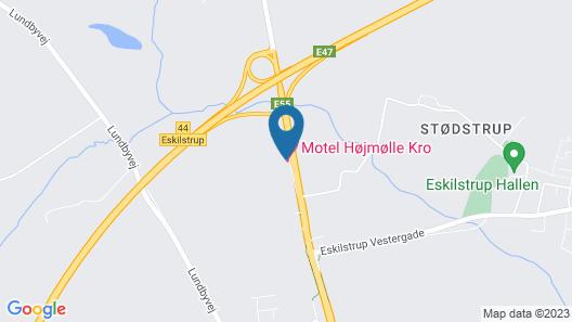 Motel Højmølle Kro Map