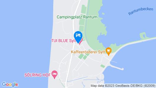 Tui Blue Sylt Map