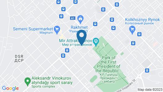 Skif HOTEL & SPA Map