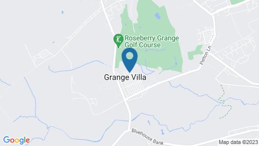 Grange Villa Hidden Gem House Near Chester le Stre Map
