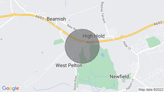 The Fairways. West Pelton Map