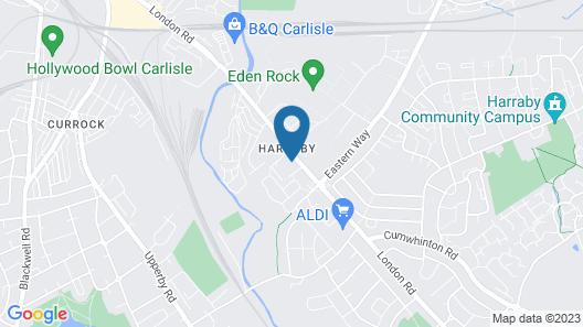 Pinegrove Hotel Map