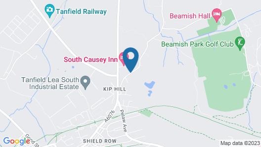 South Causey Inn Map