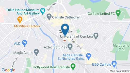 Carlisle Station Hotel, Sure Hotel Collection by BW Map