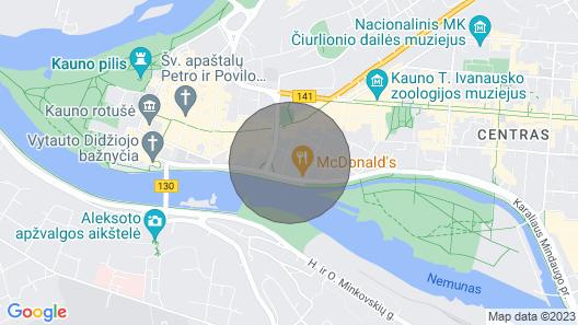Brandneues, komfortables Studio-Apartment Map