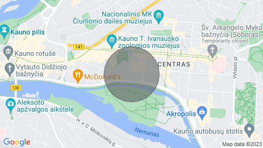 ✪ Kestucio Apartment ✪ Komfortable Wohnung in Kaunas 42 qm. Map