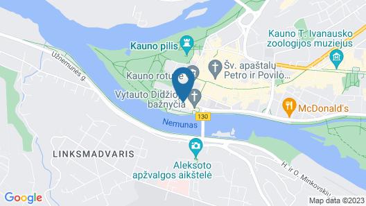 Daugirdas Hotel Map