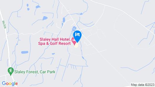 Slaley Hall Map