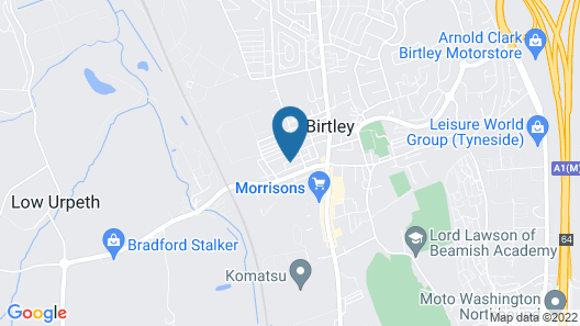 Birtley's Amethyst, 2 Bedroom Apt ,sleeps 6 Guest Map