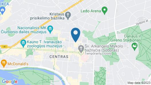 Radisson Hotel Kaunas Map