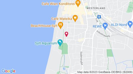 Dorint Strandresort & Spa Sylt/Westerland Map