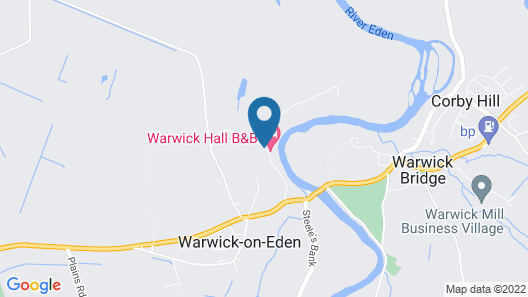 Warwick Hall Map