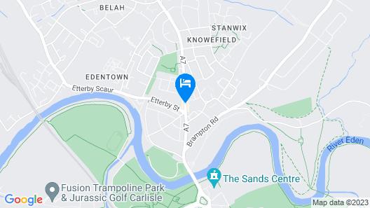 Cumbria Park Hotel Map