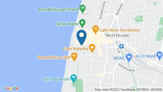 Hotel Niedersachsen Map