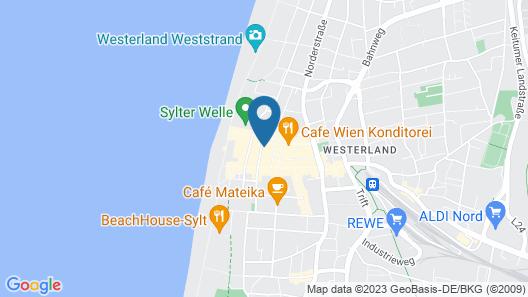 Marin Hotel Sylt Map