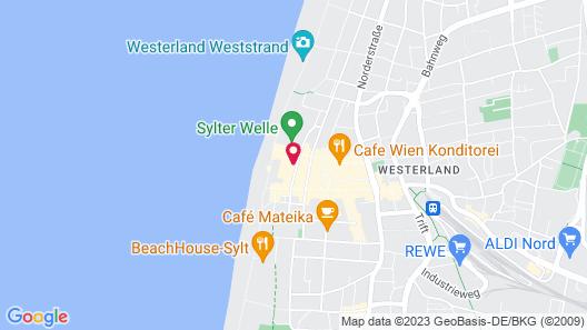 Hotel Wünschmann Map