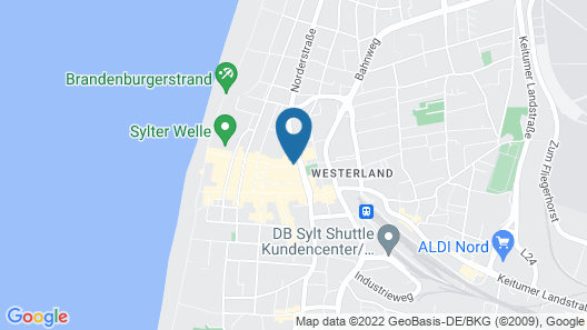Hotel Stadt Hamburg Map