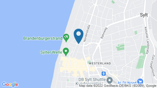 SUITEHOTEL WINDHUK Map