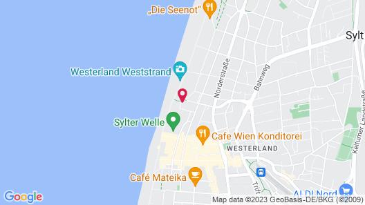 Wyn. Strandhotel Sylt Map