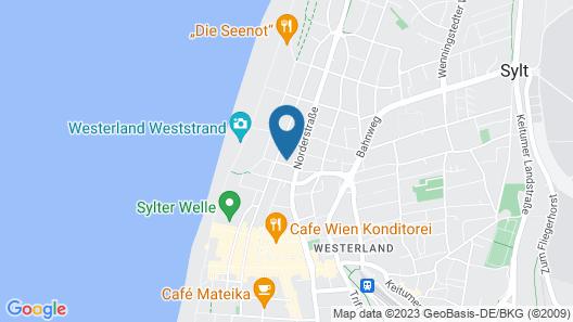 Boutique Hotel Villa Monika Map