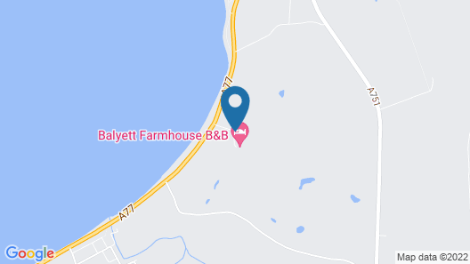 Balyett Farmhouse B&B Map