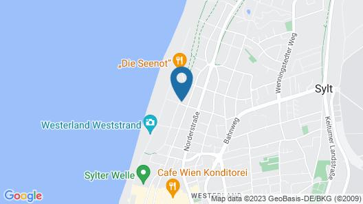 Strandresidenz-Sylt - Luxus FeWo's Map