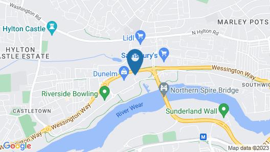 Comfort Inn Sunderland Map