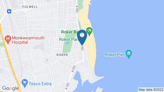 The Roker Hotel, BW Premier Collection Map