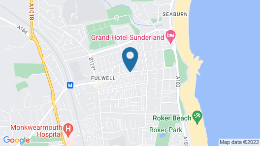 Alexander Apartments Roker Map