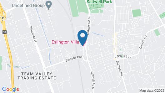 Eslington Villa Map