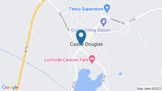 Douglas Arms Hotel by Paymán Club Map