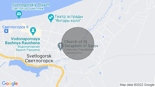 Baltic Star Apartment Map