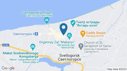 Aparthotel Home Rauschen Map