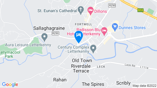 Station House Hotel Map
