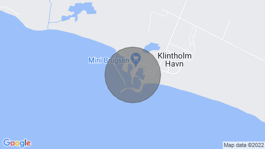 Beautiful Holiday Home in Zealand Near Sea Map