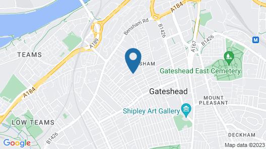 Tyne Apartments Map