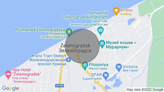 Comfortable and Modern Apartments With all Amenities Near the sea Coast Map