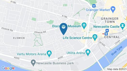 Rooms Inn Map