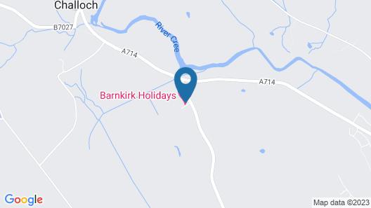 Barnkirk Holidays Map
