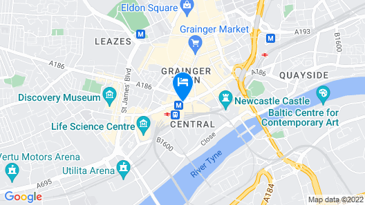 Royal Station Hotel Map